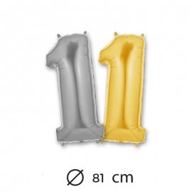Globo Numero 1 Foil 81 cm