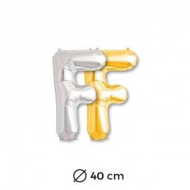 Globo Letra F Foil 40 cm
