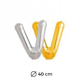 Globo Letra V Foil 40 cm