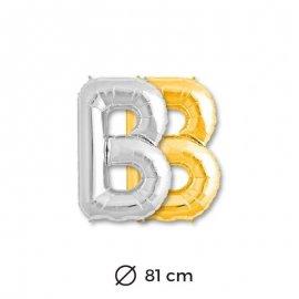 Globo Letra B Foil 81 cm