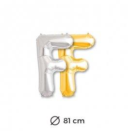 Globo Letra F Foil 81 cm