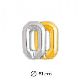 Globo Letra O Foil 86 cm