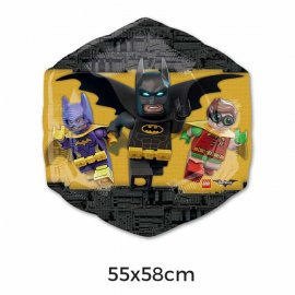 Globo Foil Lego Batman 55 x 58 cm