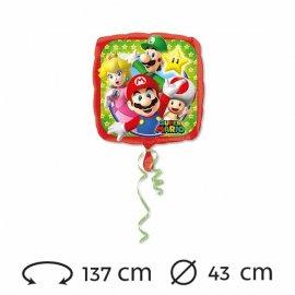 Globo Foil Super Mario 43 cm