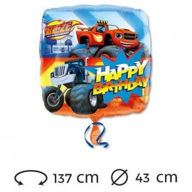 Globo Happy Birthday Blaze Foil 43 cm