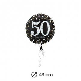 Globo Elegant 50 años 43 cm