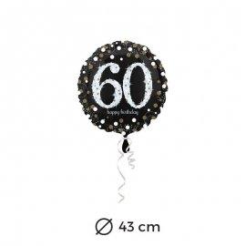 Globo Elegant 60 años 43 cm