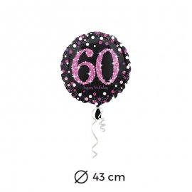Globo 60 Elegant Pink 43 cm