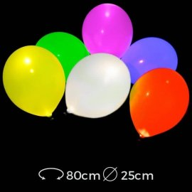 Globos Led Luminosos 25 cm