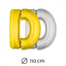 Globo Letra D Foil 110 cm