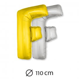 Globo Letra F Foil 110 cm