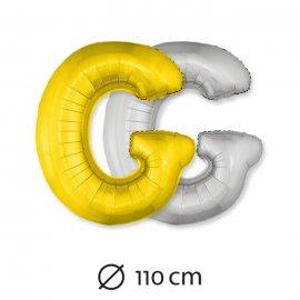 Globo Letra G Foil 110 cm