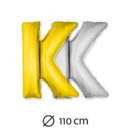 Globo Letra K Foil 110 cm