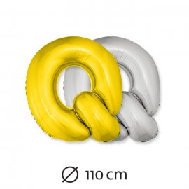 Globo Letra Q Foil 110 cm