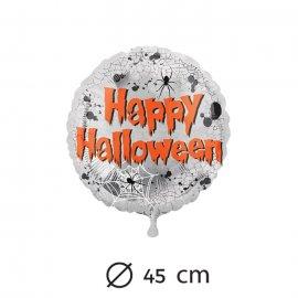 Globo Arañas Happy Halloween Foil