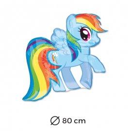 Globo Rainbow Dash 80 cm