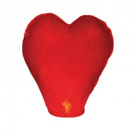 Farolillo Volador Corazón