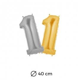 Globo Numero 1 Foil 40 cm