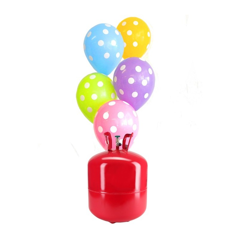 Bombona de helio grande con 50 globos lunares - Bombona de helio para globos ...