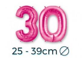 Números 25-39cm