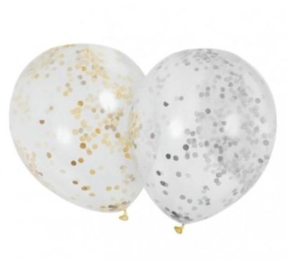 Características de los globos para fiestas transparentes