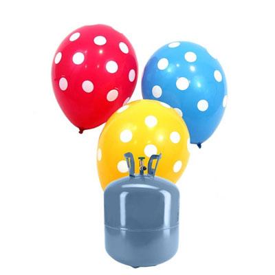 ¿Cómo son las botellas de helio que tenemos?